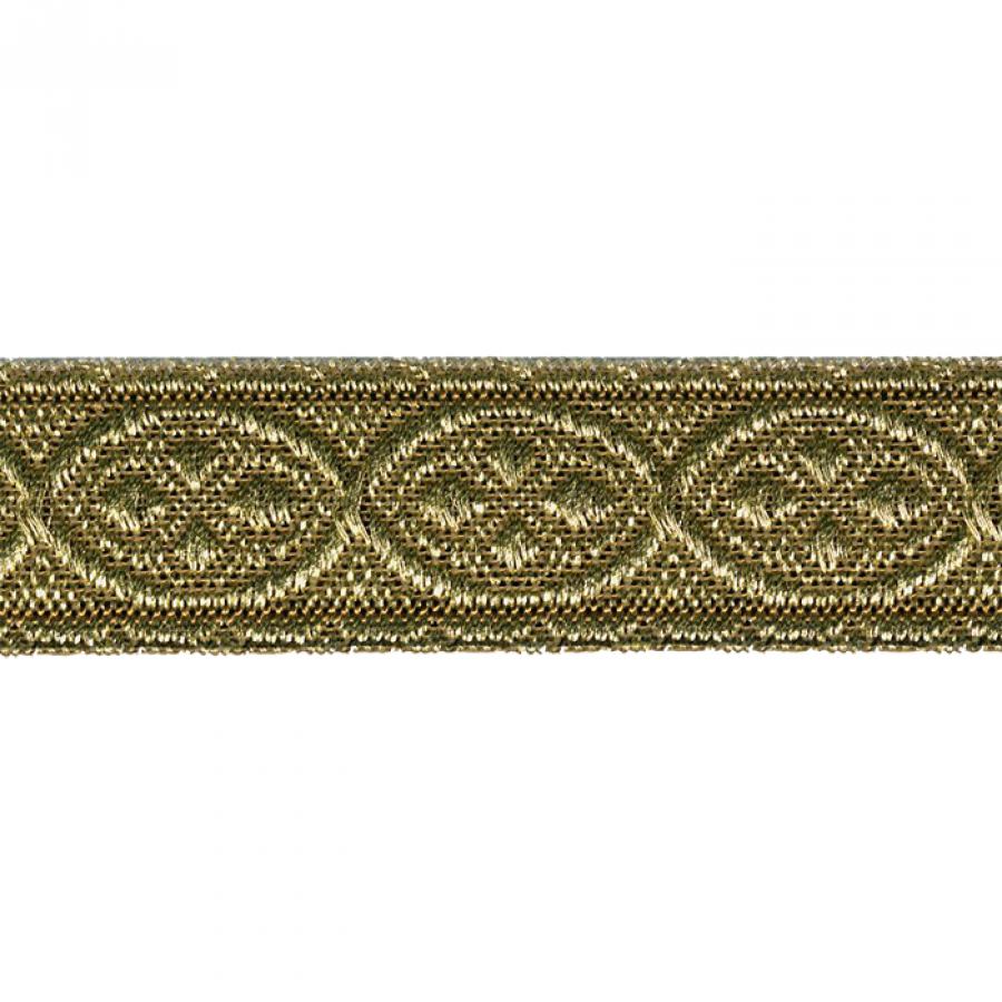 GALON METAL JACQUARD /82 ORO